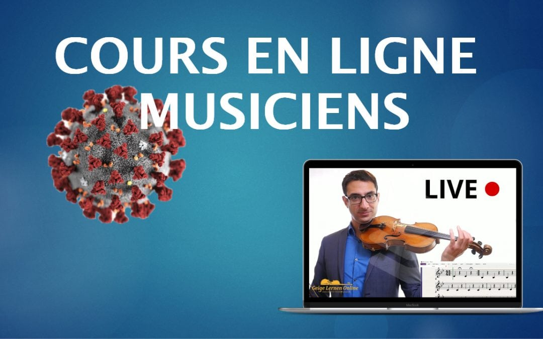 Comment enseigner en ligne pendant la quarantaine (guide pour les musiciens)